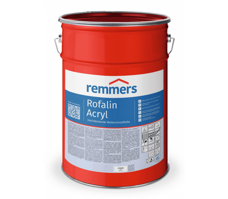 Remmers Rofalin Acryl, Sonderfarbtöne - Schutzfarbe