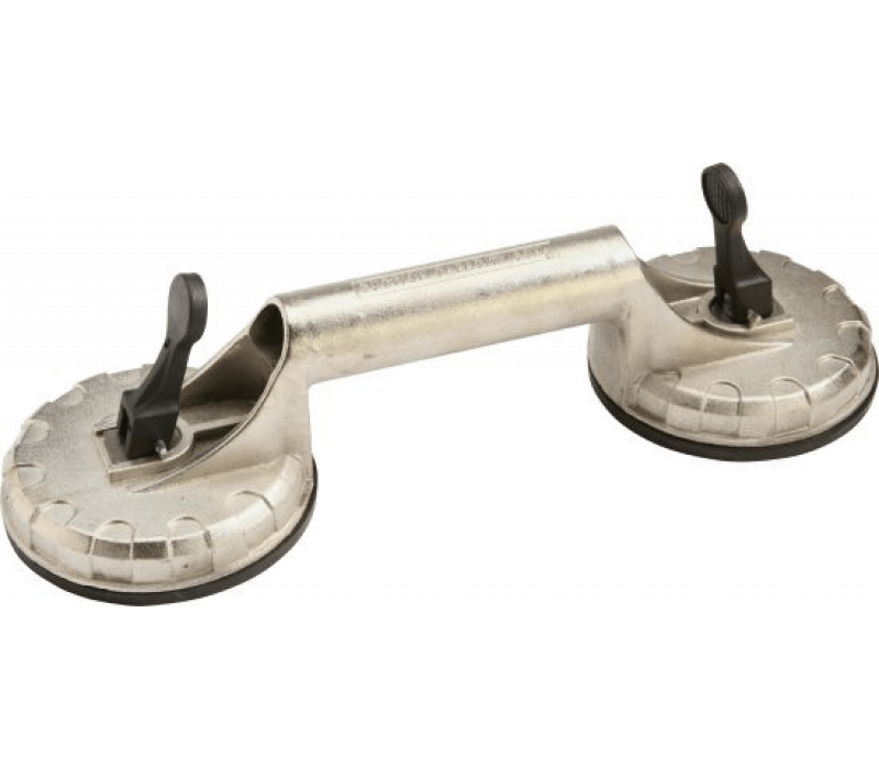 Saugheber, 2-Kopf-Alu, Tragkraft 60kg