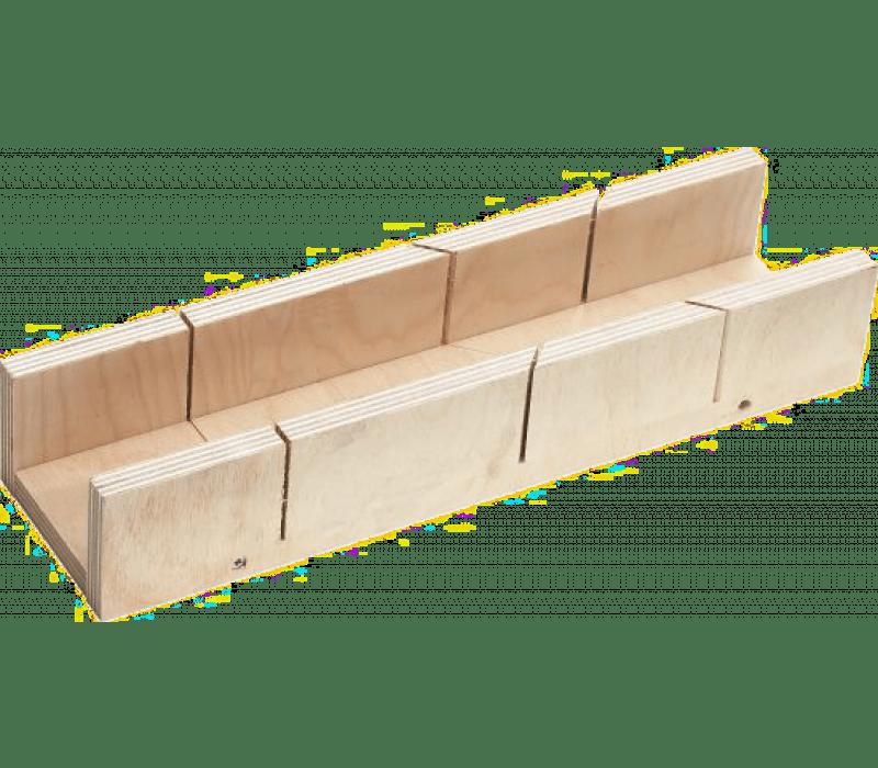 Schneidlade - Sperrholz, Innenmaß: 300x53x39mm