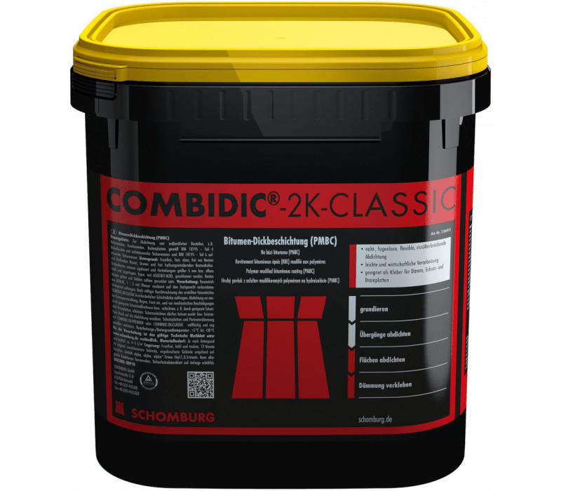 schomburg combidic 2k classic 30ltr 2k bitumen. Black Bedroom Furniture Sets. Home Design Ideas