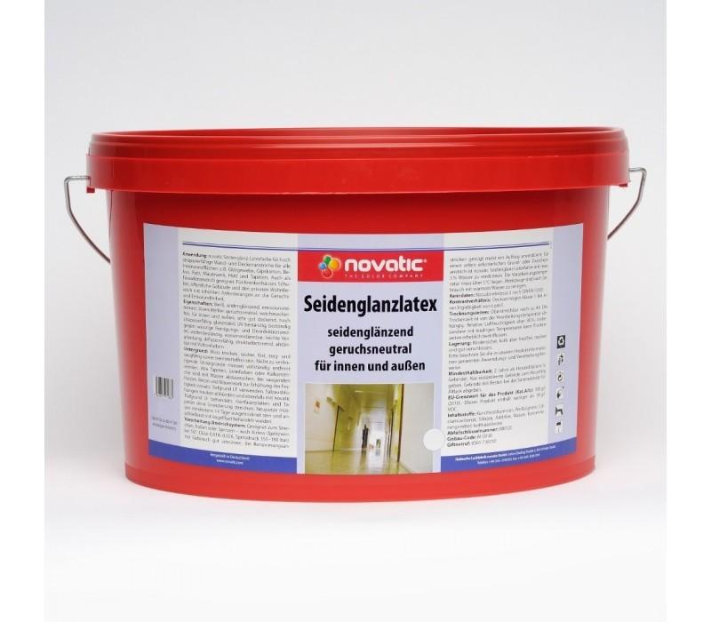 novatic Seidenglanz-Latex ELF AF37 - weiß - Kunststoff-Dispersion