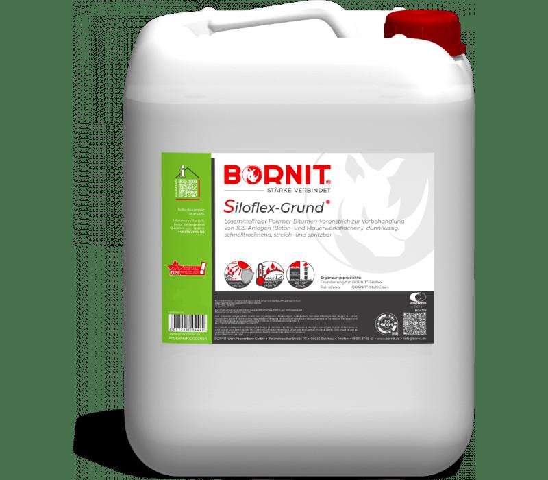 BORNIT® - Siloflex-Grund | lösemittelfreier Bitumen-Voranstrich