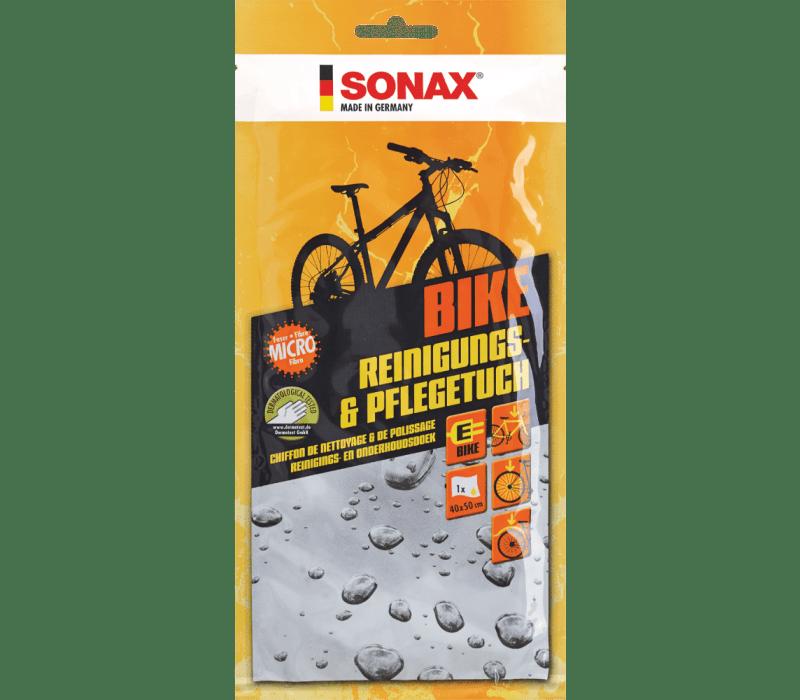 SONAX BIKE Reinigungs- & PflegeTuch 40x50