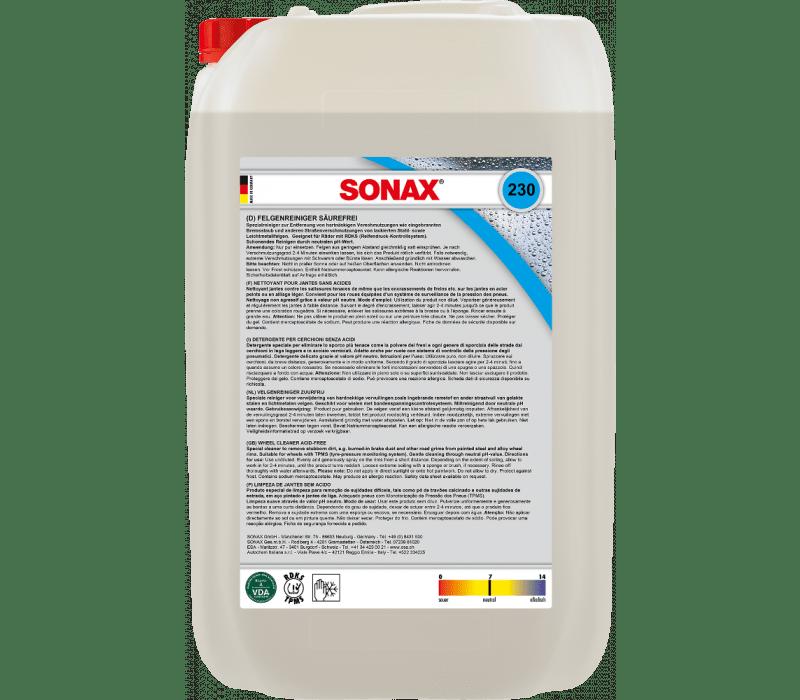 SONAX FelgenReiniger PLUS säurefrei - 25ltr