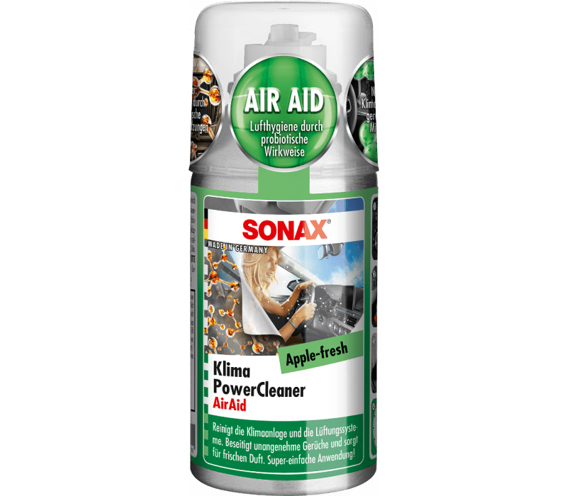 SONAX KlimaPowerCleaner AirAid probiotisch Apple-Fresh - 100ml