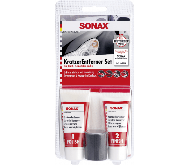 SONAX KratzerEntfernerSet Lack - 50ml
