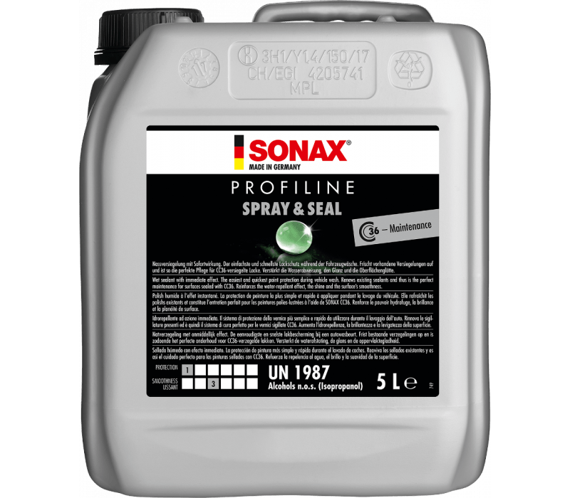 SONAX PROFILINE Spray+Seal - 5ltr