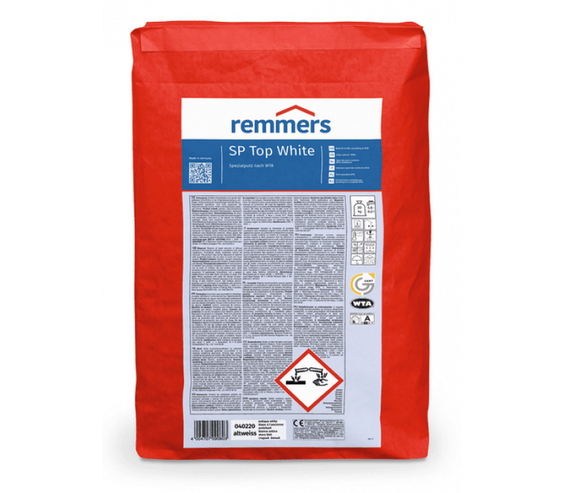 Remmers SP Top white | Sanierputz altweiß, 20kg