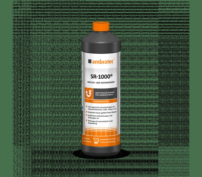 ambratec SR-1000® | Abfluss- und Rohrreiniger - 1 ltr