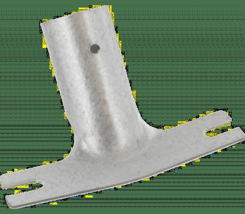 Stielhalter verzinkt, für Stiele d=28mm