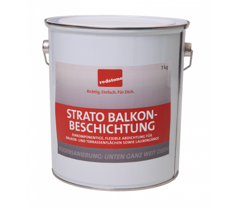 redstone Strato Balkonbeschichtung   RAL7001 Silbergrau - 7kg
