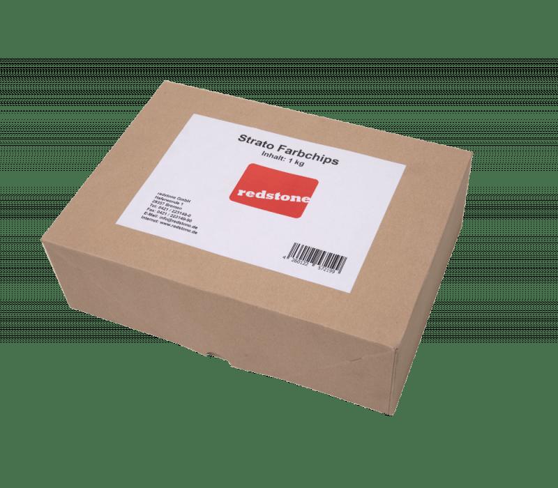 redstone Strato Farbchips | grau/weiß - 1kg