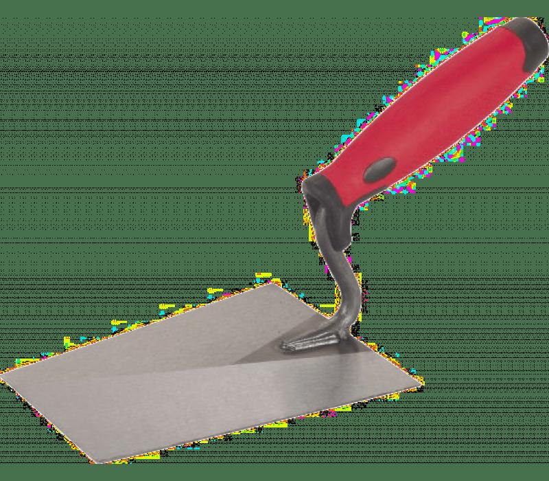 Kantige Kelle m. Schwanenhals u. 2K-Griff - 160mm