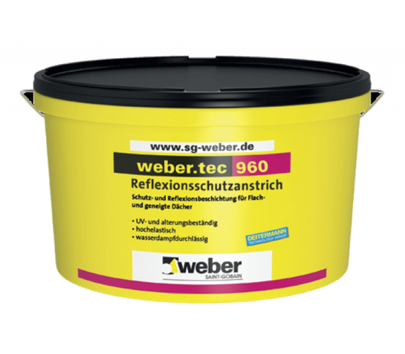 weber.tec 960, 24kg - Reflexionsschutzanstrich