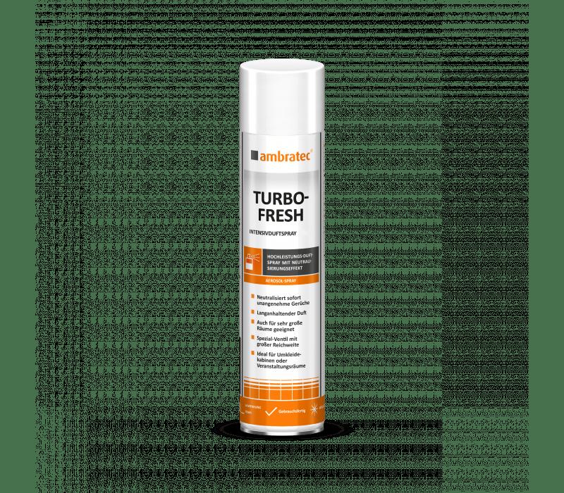 ambratec Turbo-Fresh | Intensivduftspray - 600 ml