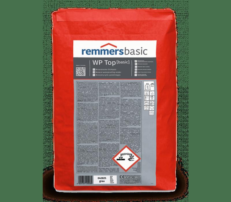 Remmers WP TOP basic | Sperrputz, 25kg - Dichtungsmörtel