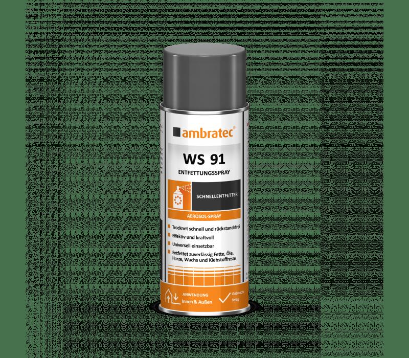 ambratec WS 91   Entfettungsmittel - 400ml