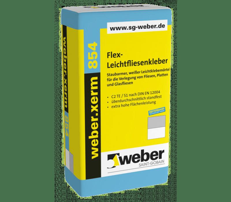 weber.xerm 854, 25kg - Flex-Leichtfliesenkleber