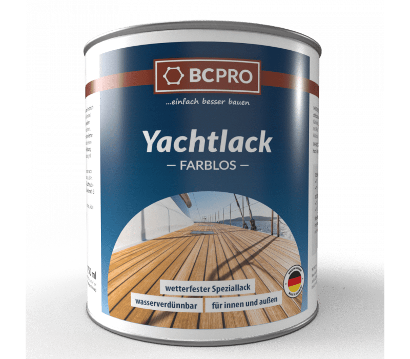 BCPRO Yachtlack - farblos