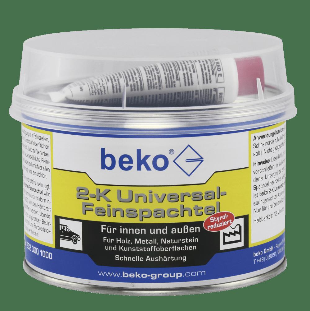 beko 2-k feinspachtel weiss | bauchemie24