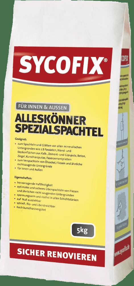 Geliebte SYCOFIX ® Alleskönner Spezialspachtel | Bauchemie24 JH94
