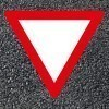 BORNIT Verkehrszeichen VZ 205 Vorfahrt gewähren