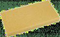 Hydroschwamm-Ersatzbelag - geschlitzt, 140x280x30mm