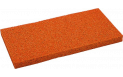 Ersatzbelag 18mm rot, für Reibebrett 140x280mm