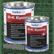 beko 2-K Epoxy (Epoxydharz), 1000g - incl. 10 Estrichklammern