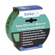 beko Iso-Dicht-Band   Grün - für Anschlussverklebung von Dampfbremsen - 60mm x 25 m