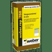 weber.rep 768, 25kg - Vergussmörtel 4 mm
