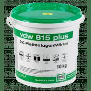 vdw 815 plus 2K-Plattenfugenmörtel, 10 kg