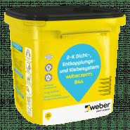 weber.xerm 844 - Hochflexible Reaktivabdichtung und Kleber