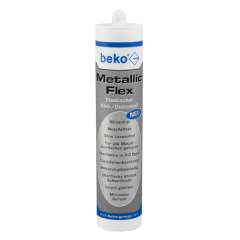 beko Metallic-Flex, 305g metallic silber