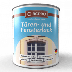 BCPRO Türen- und Fensterlack