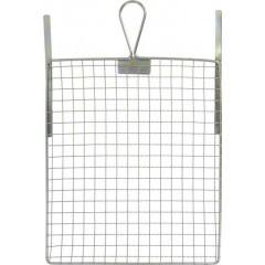 Abstreifgitter 26x30cm, Metall verz, mit Biegestreifen