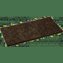 Ersatz-Haarfilzbelag 10mm, für Reibebrett 140x280mm