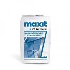 maxit ip 74 M therm - Wärmedämmender System-Leichtputz - 20kg