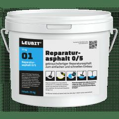 LEUBIT® Reparaturasphalt 0/5 - 25kg