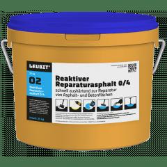 LEUBIT® Reaktiver Reparaturasphalt 0/4 - 25kg
