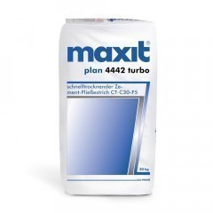 maxit floor 4442 turbo Zement-Fließestrich - CT-C30-F5, schnelltrocknend, 40kg