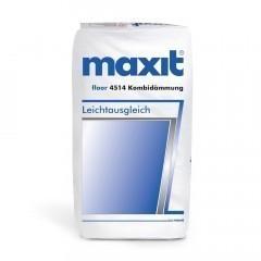 maxit floor 4514 Kombidämmung (weber.floor 4514) - Trittschall- und Wärmedämmung, 200ltr
