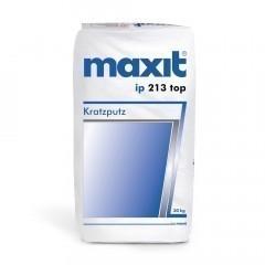 maxit ip 213 top - Edelkratzputz, weiß - 30kg