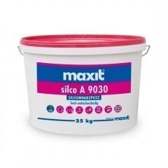 maxit silco A 9030 R - Siliconharz-Rillenputz, außen, weiß - 25kg