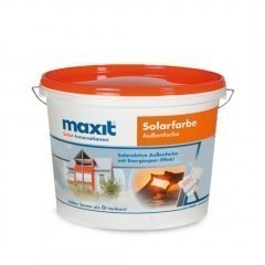 maxit Solarfarbe - Siliconharz-Fassadenfarbe, weiß