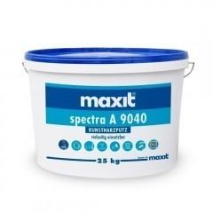 maxit spectra A 9040 R - Kunstharz-Rillenputz, außen, weiß - 25kg