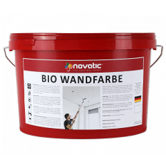 novatic Bio-Wandfarbe AD01 - weiß