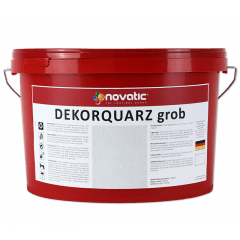 novatic Dekorquarz grob DP05 - weiß