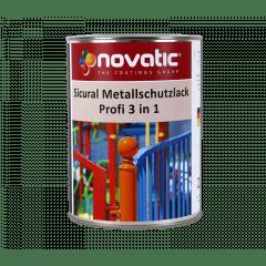 novatic Sicural-Profi-Metallschutzlack 3in1 - weissaluminium
