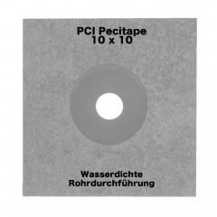 PCI Pecitape grau 10x10cm - Dichtmanschette
